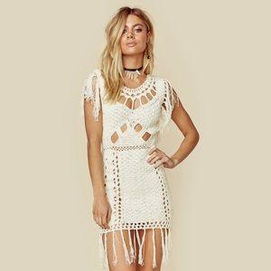 Cleobella crochet dress